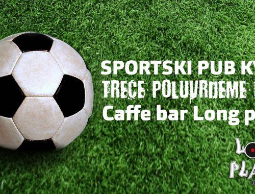 Sportski pub kviz Treće poluvrijeme - Najava kola
